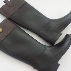 Banana Republic Tall Black/Brown Boots